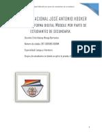 """""""Estructura de La Práctica Pedagógica Innovadora J. Hooker"""