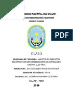 Sistemas Eléctricos de Potencia 18a