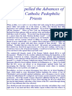 How I Repelled the Advances of Catholic Pedophile Priests II