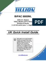 BiPAC-8800NL-QSGEN