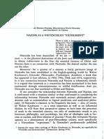 NS 6 - 116-122 - Nazism as a Nietzschean _experiment_ - K. R. Fischer