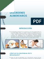 DESORDENES ALIMENTARIOS ppt