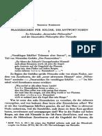 NS 6-75-115 - Fragzeichen Für Solche, Die Antwort Haben - Fr. Kabermann