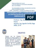 Presentacion  - Sup. y Control Sistemas Electricos