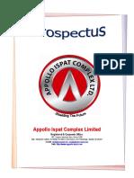 Appollo Ispat Complex Ltd