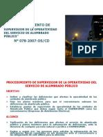 Presentación_Supervisión de Operatividad Servicio de AP