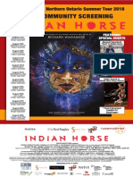 3rd Encore Indian Horse 2018 Tour Poster