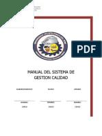 Manual de Calidad Utp