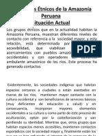 Los Grupos Étnicos de La Amazonía Peruana1