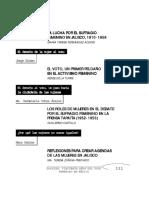 10. La Lucha Por El Sufragio Femenino en Jalisco, 1910-1958