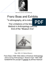 Franz Boas and Exhibits