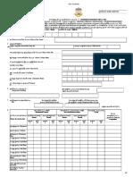 Property Tax Self Declaration Form
