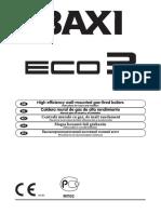 Baxi Eco3 User Manual