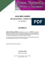 Modelo Carta Autorizacion de La Empresa