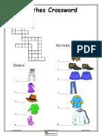 Clothes Crossword.pdf