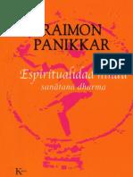 Espiritualidad hindú- sanatana dharma - Raimon Panikkar.pdf