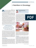 nutricion en oncologia