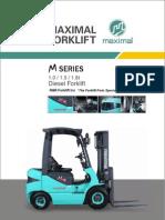 Maximal Diesel Forklift Japanese 1.0-1.8t