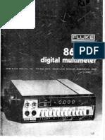 Fluke 8600A