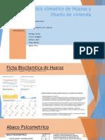 Analisís Bioclimatico de Huaraz y Propuesta Proyecto Sostenible