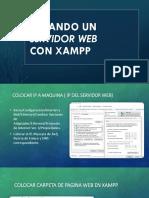 Servidor Web XAMPP