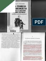 Jeffrey Alexander - Las Teorias Sociologicas Desde La Segunda Guerra Mundial