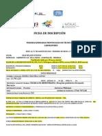 Ficha Inscripción Jornadas 2018 w97