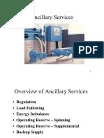Ancillary Services Notes