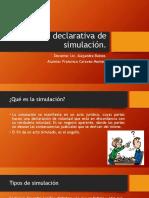 Accion Declarativa de Simulacion