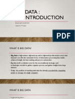Part 1 - Introduction to Big Data
