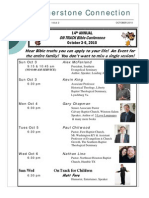 Newsletter Oct 2010