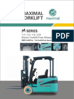 Maximal Electric Three Wheel Forklift