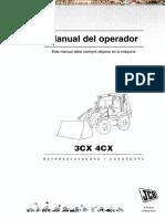 Manual Operacion Mantenimiento Retroexcavadora 3cx 4cx Jcb