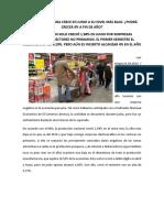 Economía Peruana Crece en Junio a Su Nivel Más Bajo