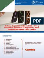 Presentación_ISO 14001 - OHSAS 18001-1