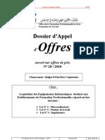 Acquisition Des Equipements Informatiques OFPPT