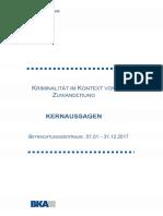 kernaussagenZuKriminalitaetImKontextVonZuwanderung2017