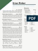 Resume Format Design v4