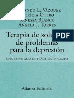 Terapia de solución de problemas para la depresión - Fernando L. Vázquez.pdf