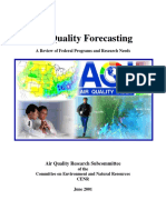 Air Quality Forecasting Particulate