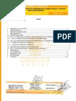 Sgi-p-ms-903.02 Actuacion Por Emergencia de Derrames de Combustible y Aceites Mina Subterranea