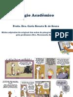Aula sobre Plágio Acadêmico