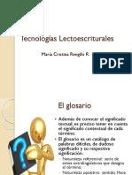 Tecnologías Lectoescriturales 2