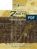 Castle Zagyg - Yggsburgh - Town Halls