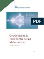 Geogebra en La Ensenanza Matematicas