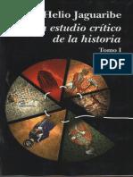 Jaguaribe Helio - Un Estudio Crítico de La Historia T 1