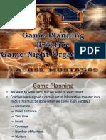 Glazier Gameplanning