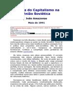 JOÃO AMAZONAS - A Volta Do Capitalismo Na União Soviética