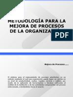Metodologia mejora procesos