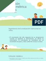 evaluacion de los niños antropometrica